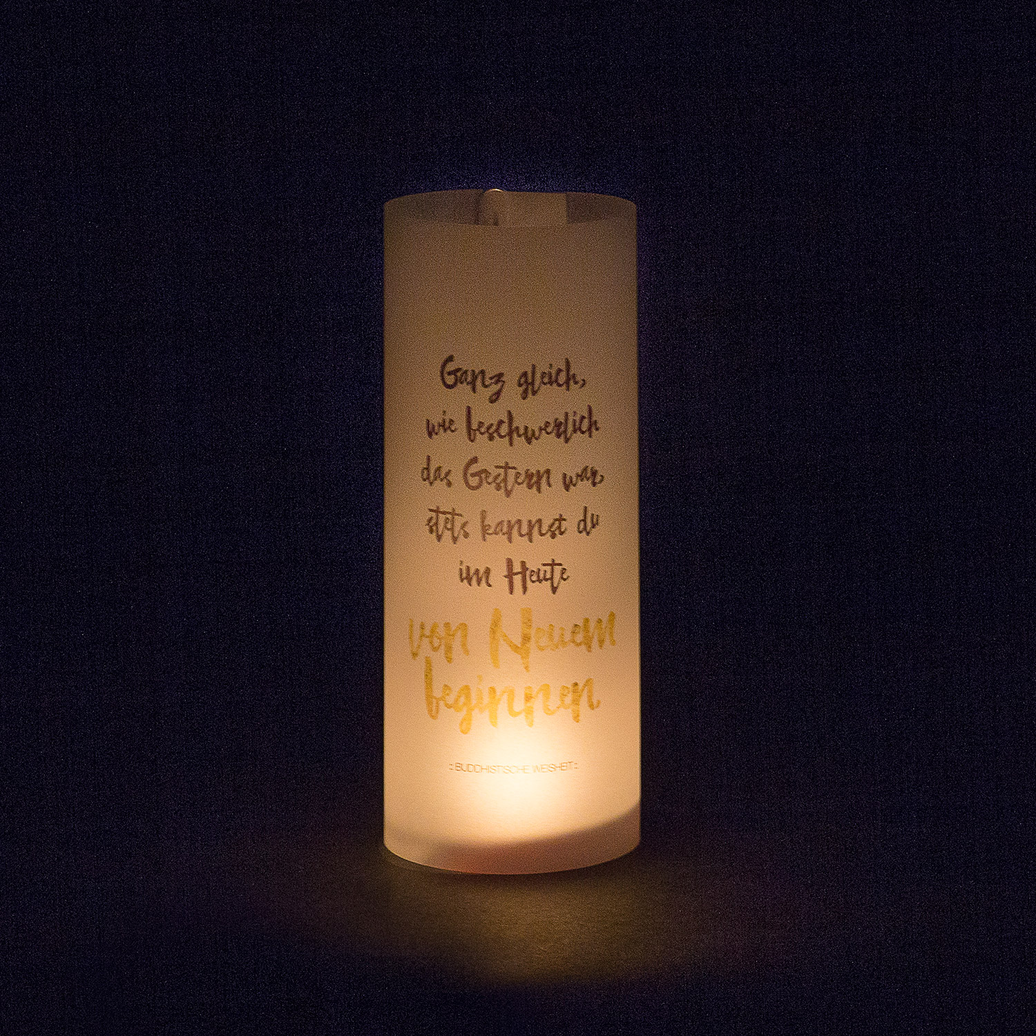 """Paper Light Shade Motiv """"Spruch"""" - The Special One"""