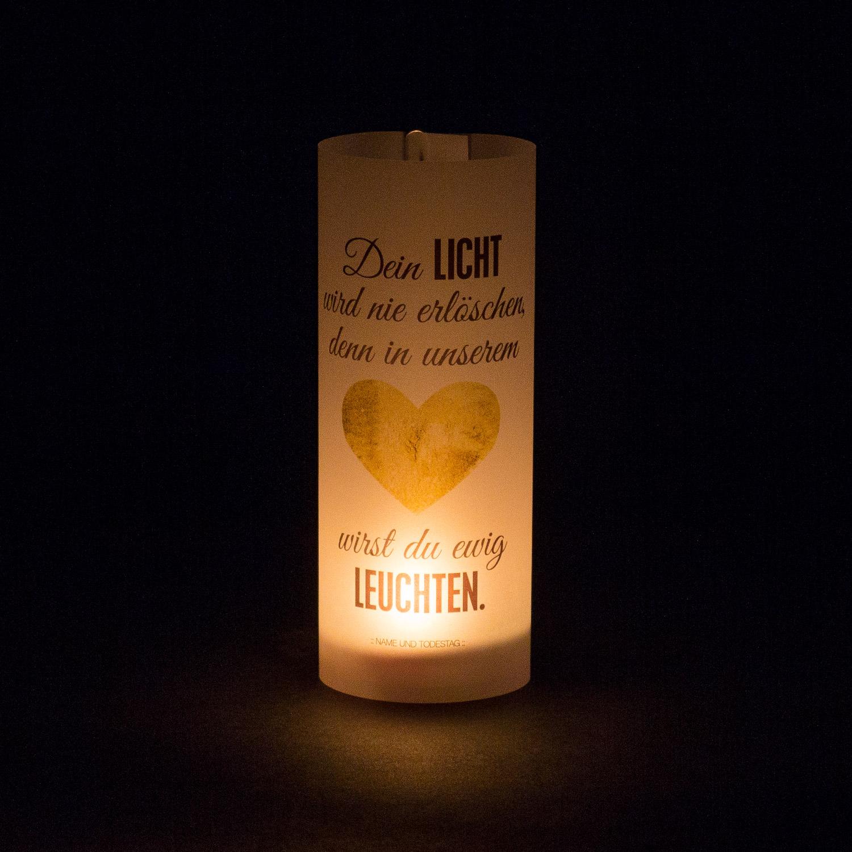 "Paper Light Shade ""Ewig leuchten"" - The Special One"