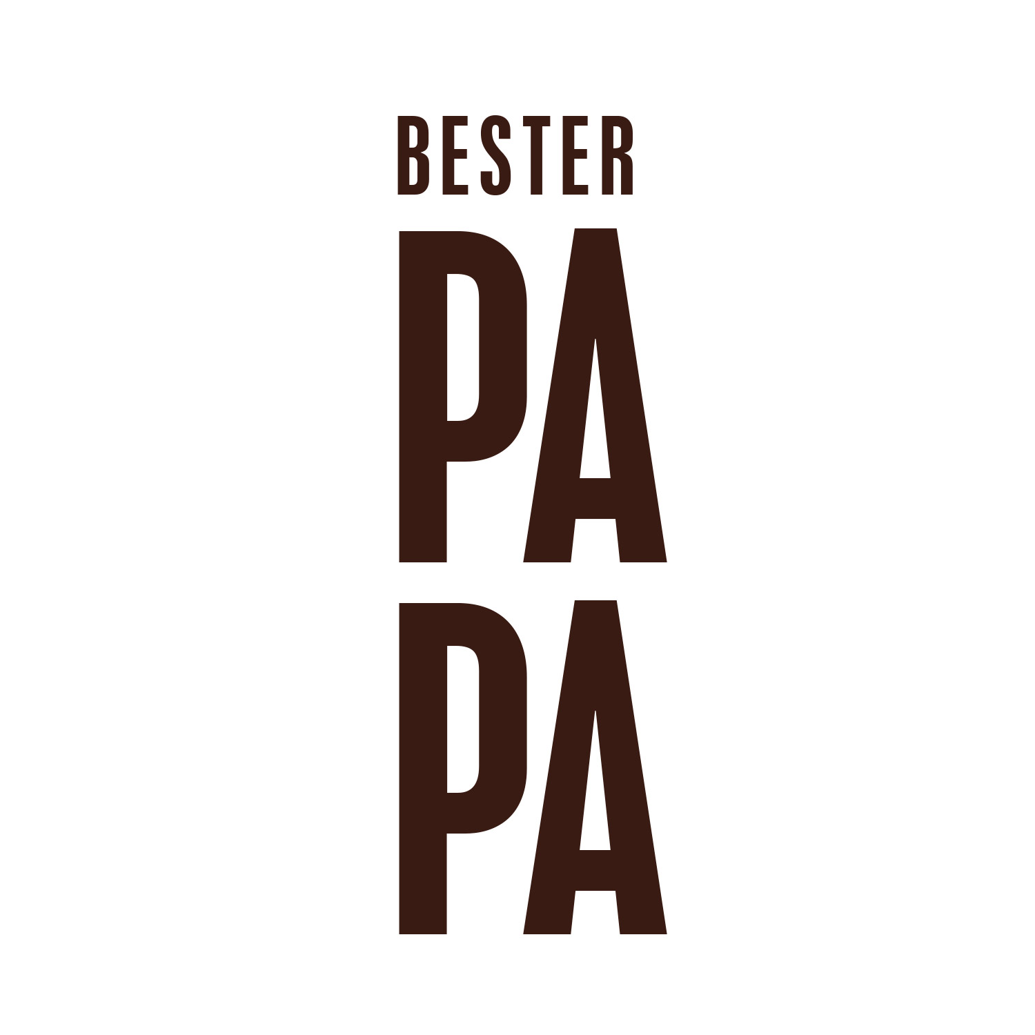 "Paper Light Shade ""BESTER PAPA"" - The Special One"