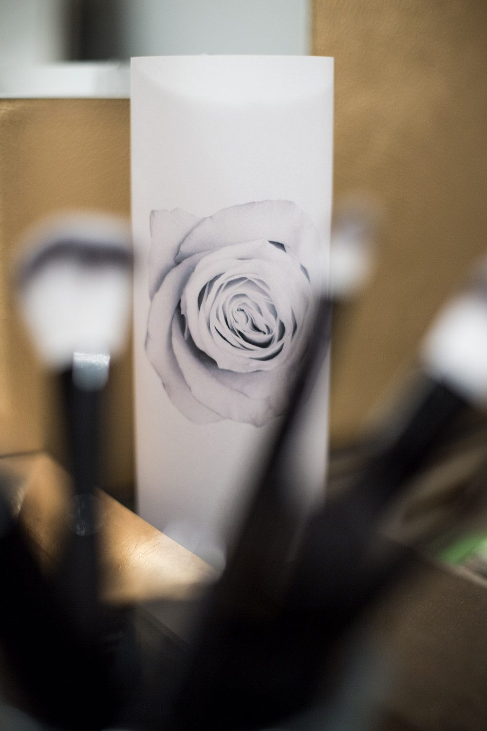 "Paper Light Shade Motiv ""Rose"" - The Special One"