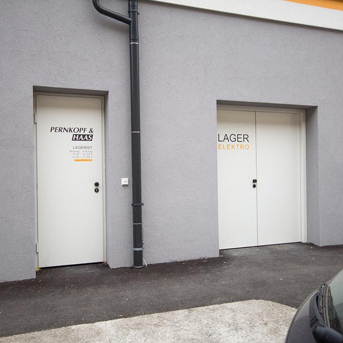 Türaufkleber für Pernkopf&Haas