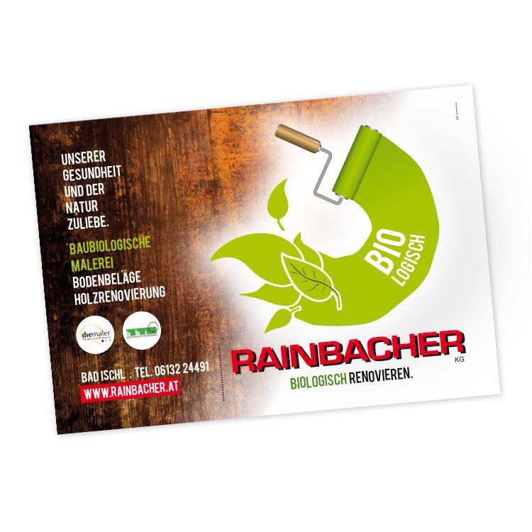 Banner für Rainbacher