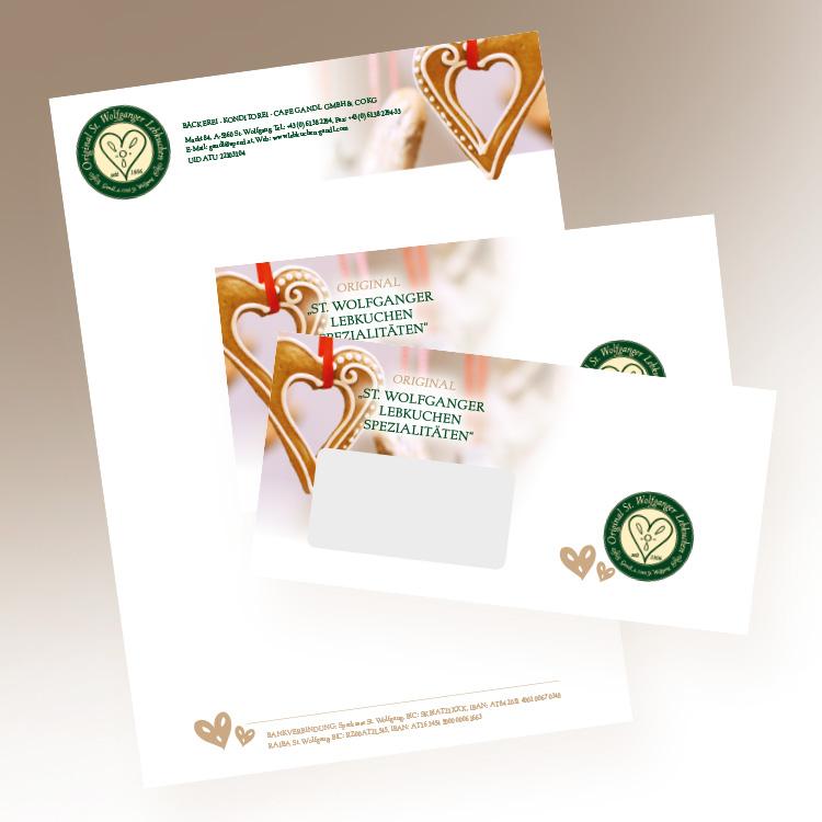 Briefpapier und Kuverts
