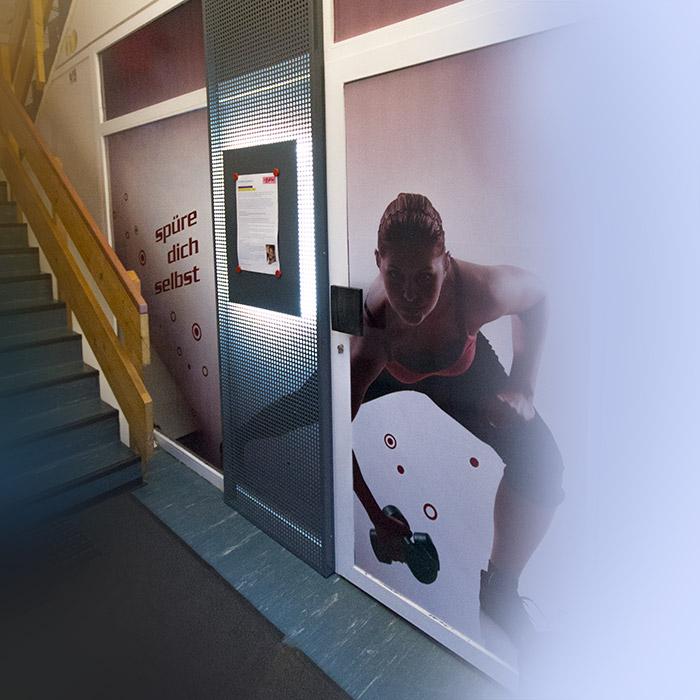 Gestaltung des Eingangsbereich