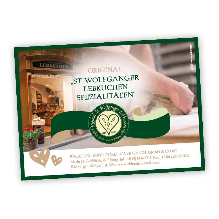 Einschaltung für Gandl St. Wolfgang