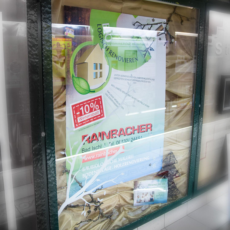 Rainbacher Auslagengestaltung