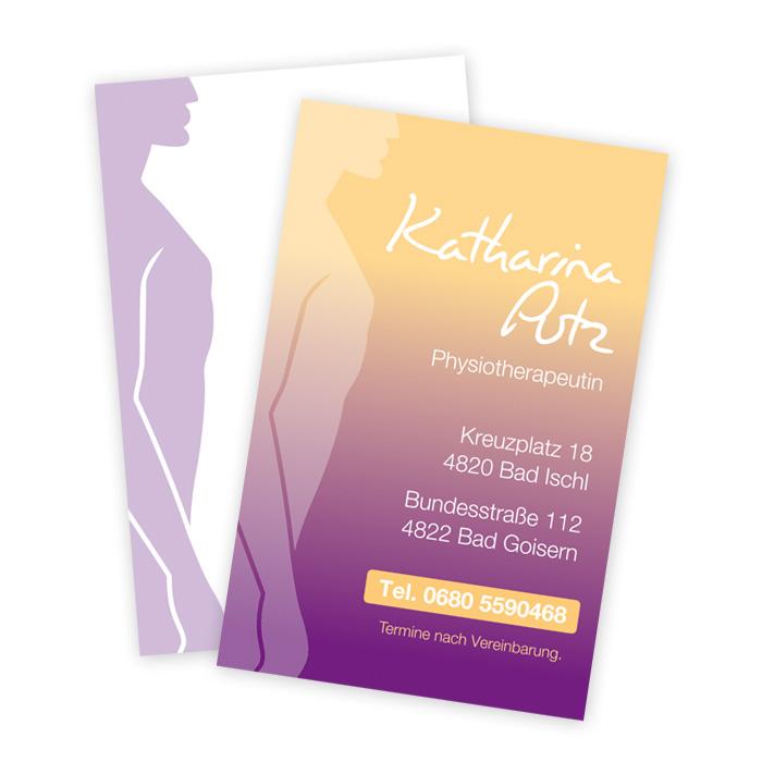 Visitenkarten für Katherina Putz