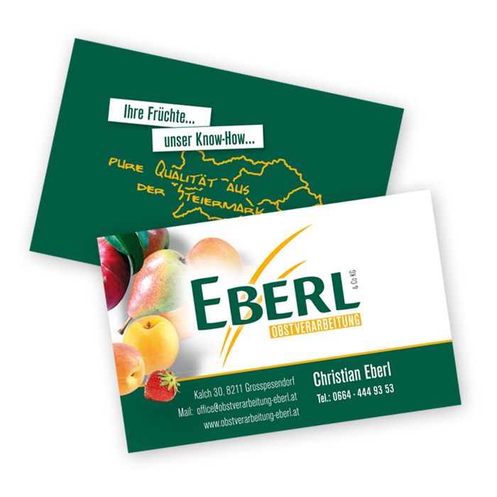 Visitenkarten für Eberl