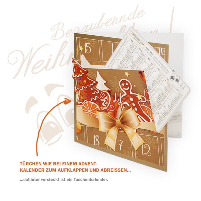 Weihnachtskarte für Anita Wolf
