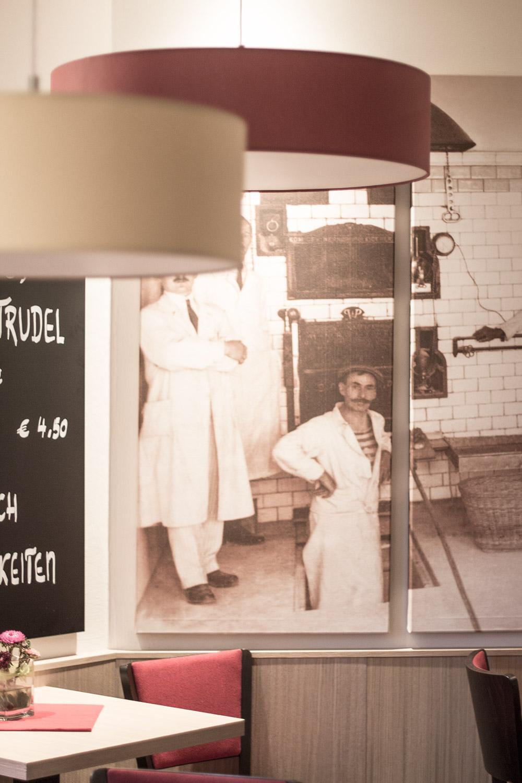 Gandl Café Bäckerei - Keilrahmen