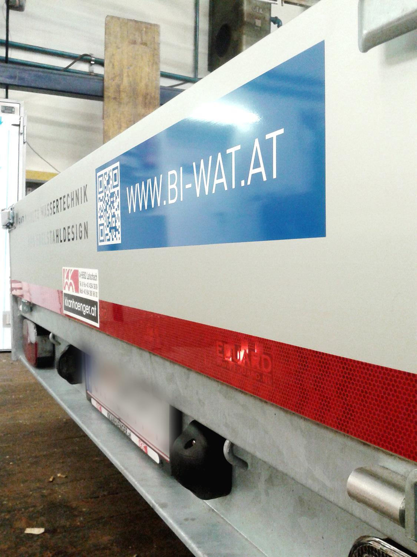BI-WAT GmbH - Anhänger Heck