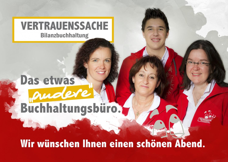 Beamerwerbung Anita Wolf-Eberl Bilanzbuchhaltung Vertrauenssache