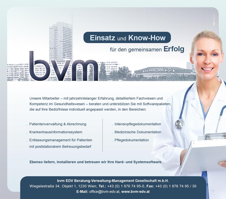 Einschaltung bvm-EDV