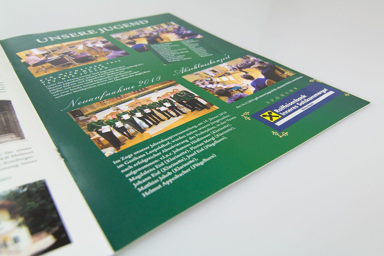Gestaltung einer Festschrift - MORI Werbung & Fotografie