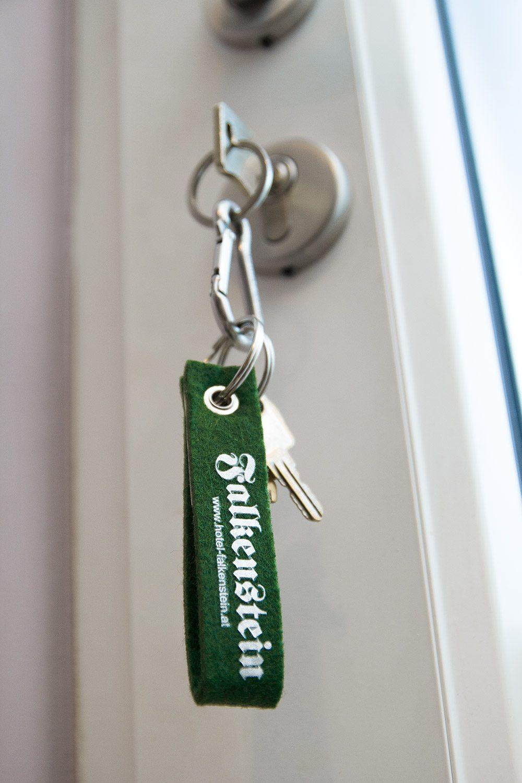 Schlüsselanhänger gestaltet von MORI Werbung & Fotografie im Salzkammergut