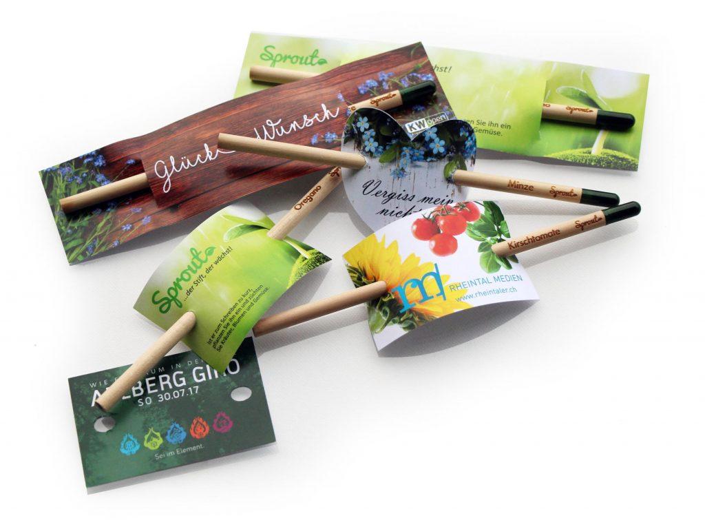 Nachwachsender Bleistift – MORI Werbegestaltung & Fotografie